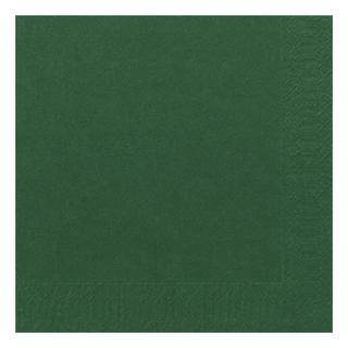 Tovagliolo 40x40 2 veli verde scuro