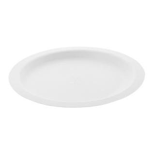 Piatto Gourmet ovale  in polpa di cellulosa  cm 26x20