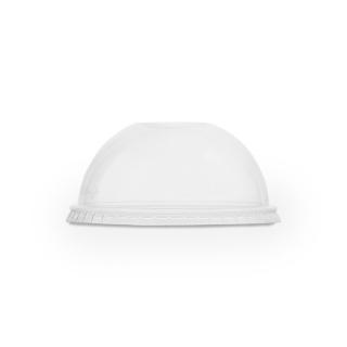 Coperchio in PLA dome con taglio cannuccia per bicchiere 9/12/16oz