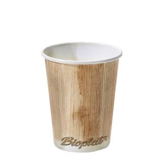 Bicchiere di cartoncino bio Palml Leaf  9oz ml 270