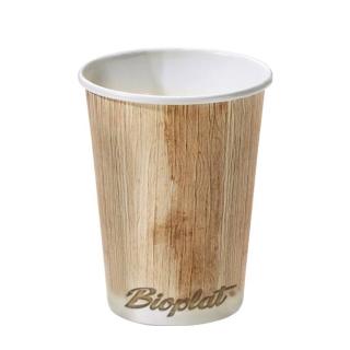 Bicchiere di cartoncino bio Bioplat 12oz ml 360