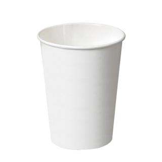 Bicchiere di cartoncino bio bianco 12oz ml 360