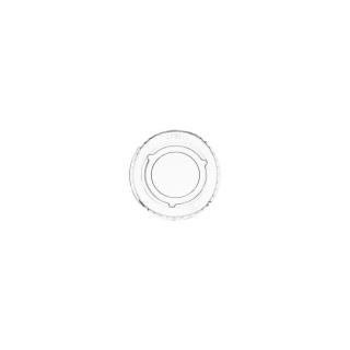 Coperchio in PLA per contenitore per salse bio ml 30