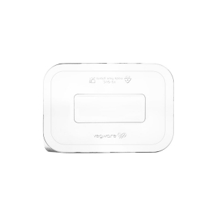 Coperchio in PLA per  vaschetta in polpa di cellulosa  cm 19,2x13,5