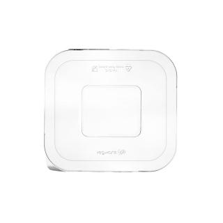 Coperchio in PLA per vaschetta in polpa di cellulosa  cm 19,9x18,5