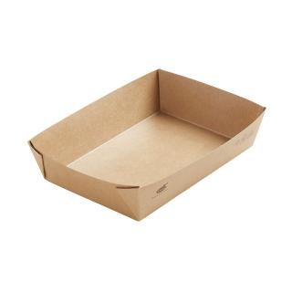 Scatola avana in cartonciono laminato in PLA cm 20x14x4,5