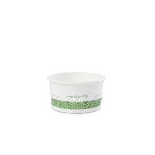 Contenitore di cartoncino bio per zuppa  ml 180  6 oz