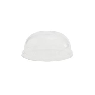 Coperchio dome PLA per contenitore di cartoncino bio per zuppa 12/16/24 oz