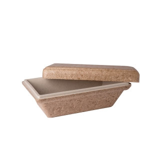 Box termico Compostabile take away gelato  gr.500