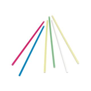 Cannuccia colori assortiti nuda diametro mm 7 altezza cm 21