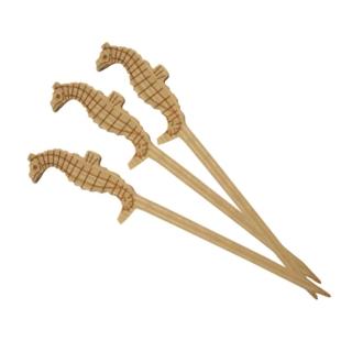 Spiedino Cavalluccio in bamboo cm 9