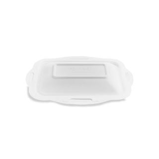Coperchio in polpa di cellulosa biodegradabile e compostabile cm 21x15 per vaschetta codice 90440/90441/90442/90443