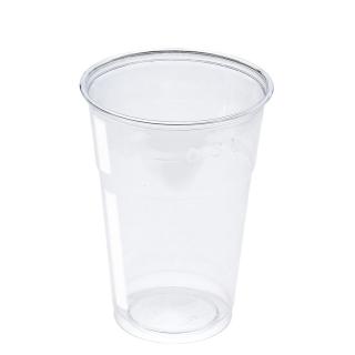 Bicchiere in Pet trasparente cc 400 tacca 300
