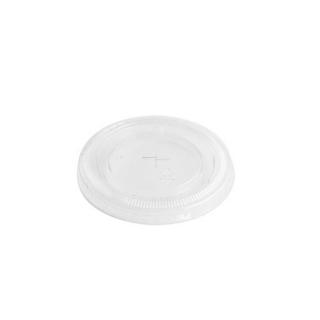 Coperchio piatto con foro per bicchiere pet cc350/400