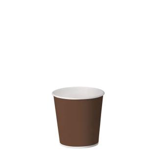 Bicchiere caffè brown in cartoncino politenato 3oz 75 ml