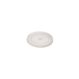 Coperchio semitrasparente piatto per bicchiere politenato 3 oz