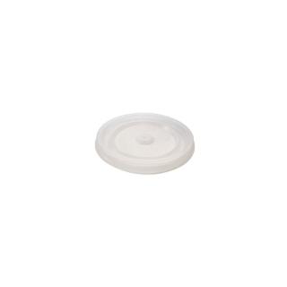Coperchio semitrasparente piatto per bicchiere  4oz