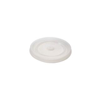 Coperchio semitrasparente piatto per bicchiere politenato 6oz