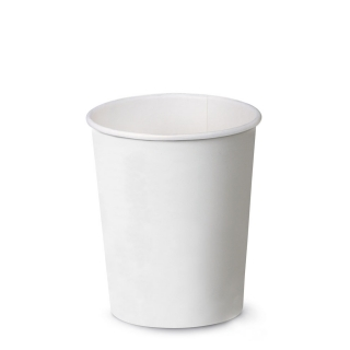 Bicchiere bevanda calda bianco in cartoncino politenato 9oz 270 ml