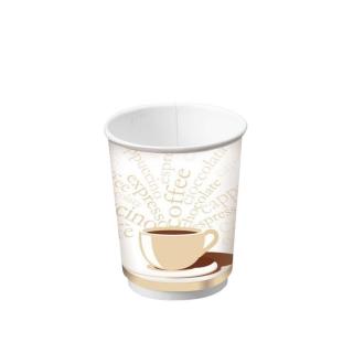 Bicchiere double wall in cartoncino politenato 9oz 270 ml