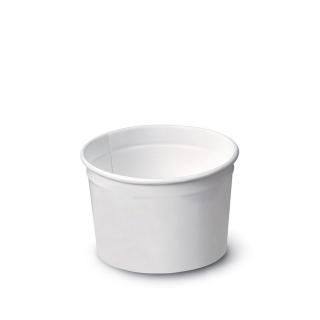 Coppetta gelato bianca tipo 95 (ml 135)