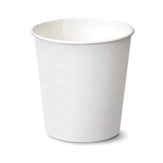Cestello gelato bianco in cartoncino politenato cm 9,7x9,7x10,6 ml 525