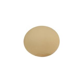 Disco oro cm 14 di cartone liscio gr/mq 1.050