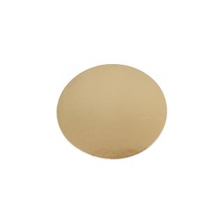 Disco oro cm 16 di cartone liscio gr/mq 2.400