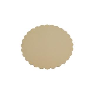 Disco oro cm 18 di cartone cappato gr/mq 2.400
