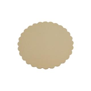 Disco oro cm 20 di cartone cappato gr/mq 2.400