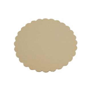 Disco oro cm 22 di cartone cappato gr/mq 2.400