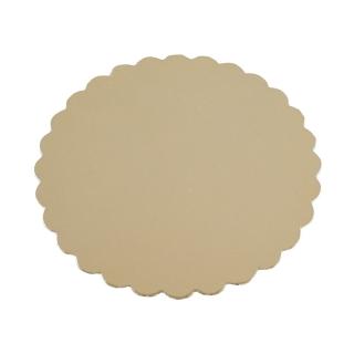 Disco oro cm 26 di cartone cappato gr/mq 2.400