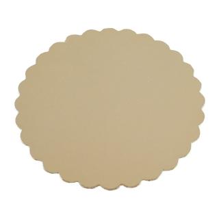 Disco oro cm 28 di cartone cappato gr/mq 2.400
