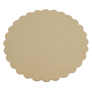 Disco oro cm 30 di cartone cappato gr/mq 2.400