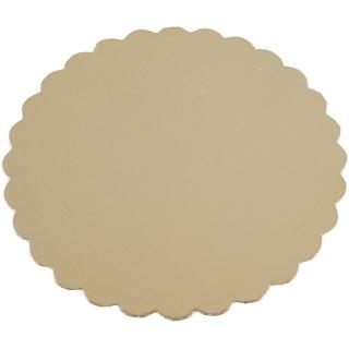 Disco oro cm 32 di cartone cappato gr/mq 2.400
