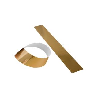 Fascia cartone oro cm 5x70