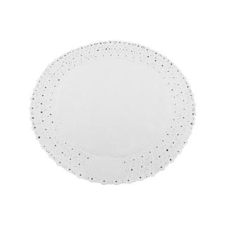 Pizzo rotondo porcellanato diametro cm 24