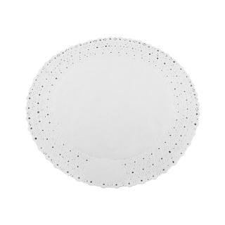 Pizzo rotondo porcellanato diametro cm 25