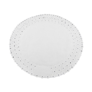 Pizzo rotondo porcellanato diametro cm 26