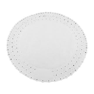 Pizzo rotondo porcellanato diametro cm 28