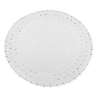 Pizzo rotondo porcellanato diametro cm 30