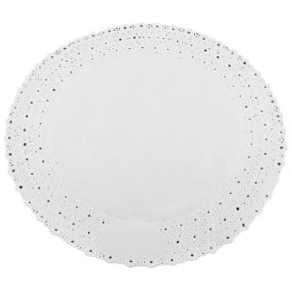 Pizzo rotondo porcellanato diametro cm 32