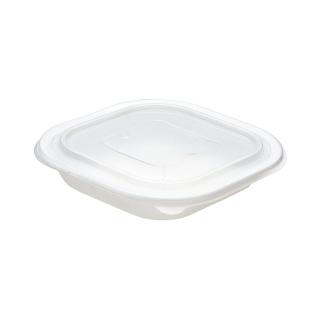 Piatto in Polipopilene bianco cc650 cm 18x18x3,6