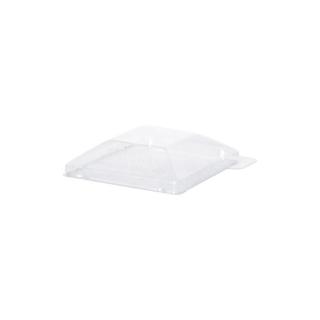 Coperchio trasparente in PET per piatto di plastica cm 6,5x6,5