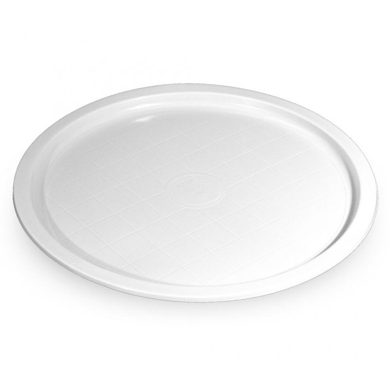 Piatto di plastica bianca  party Ø cm 31,5