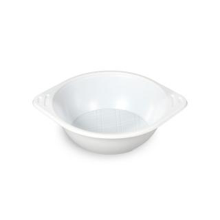 Scodella di plastica bianca Ø cm 16,5 altezza cm 5