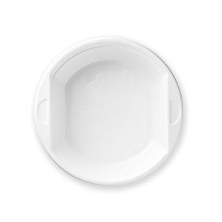 Scodella di plastica bianca Ø cm 17 altezza cm 5,5