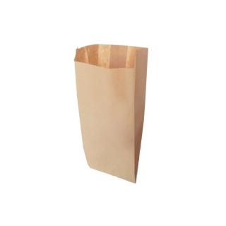 Sacchetto carta alimentare avana cm 12x28