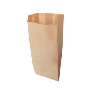 Sacchetto carta alimentare avana cm 15x34