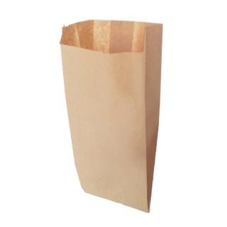 Sacchetto carta alimentare avana cm 18x40